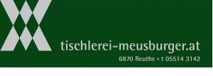 Logo Tischlerei Meusburger angepasst