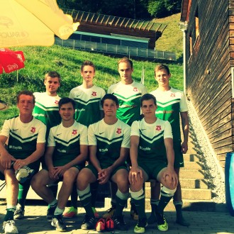 3. Platz beim Fußballvereineturnier in Bizau